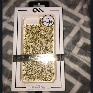 24K gold case💕 New never used!!